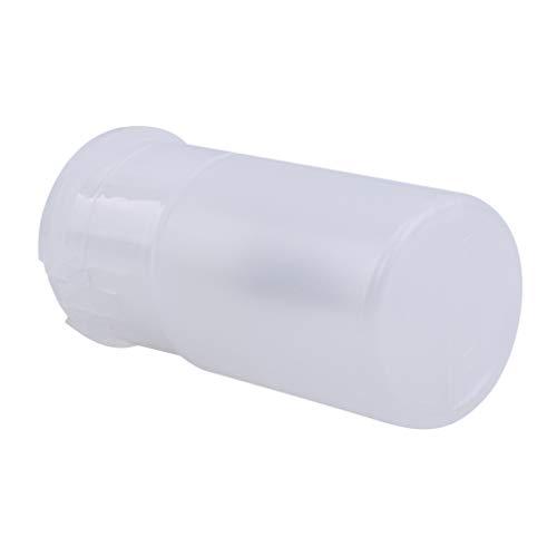 LLZIYAN Entladen Wasser Presse Flasche Nail Art Wash Entferner Alkohol Flüssigreiniger Leere Spender, Transparent