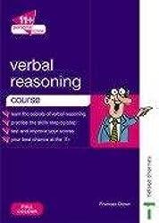 11+ Personal Tutor Verbal Reasoning Course