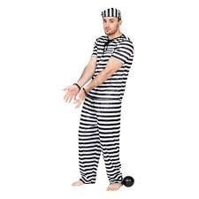 Männlich Gefangener Kostüm - Fyasa 892940-t04Gefangene Kostüm, groß