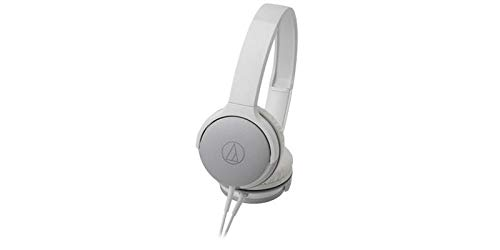 Audio Technica AR1IS WH White On-Ear Headphones for Smartphones