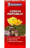 Michelin Map Czech Republic 755 par Michelin Travel & Lifestyle