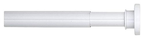 Sealskin Barra Extensible para Cortina de Ducha, 2.8 x 2.8 x 125-220 cm, Acero Inoxidable, Blanco