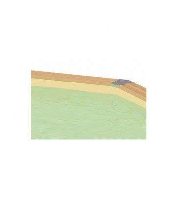 Liner beige piscine Azura 350x505 Ubbink