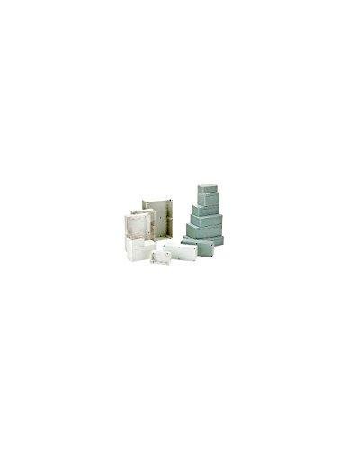 Price comparison product image Coffret Etanche en ABS – GRIS FONCE 115 X 90 X 55 MM