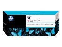 HP 91 Original Tinte hell magenta Standardkapazität 775ml 1er-Pack mit Vivera Tinten