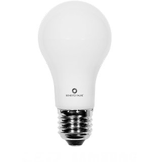 Beneito High-Output LED 6 Watt E27 Samsung Chip Glühlampe Birne rundum Licht (High-output-led-chip)