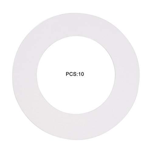 Pot Wax Warmer Clean Premium Collars Se adapta a la mayoría de los calentadores de lata de 14 oz Calentador...