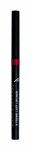 Manhattan X-Treme Last herausdrehbarer Lipliner, Intensive Farbe & definierter Halt, Farbe Love Red 44N (1 x 0,2g) -