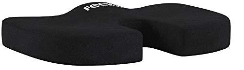 feela.® Orthopädisches Sitzkissen für Bürostuhl und Auto inkl. E-Book - Ergonomisches Sitzkissen wirkt Schmerzreduzierend, Erhöht Sitzkomfort, Fördert Durchblutung und Entlastet das Steißbein