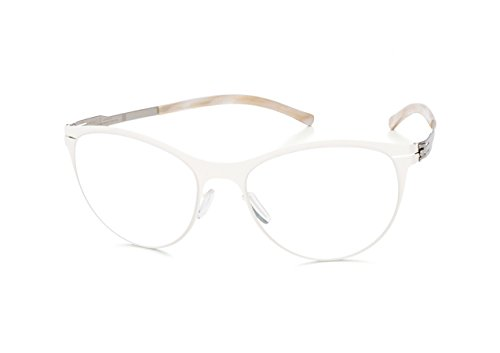 Eyewear Ic!Berlin Lucie H. Off White Pearl Made in Germany +Hoya Lens Clear New