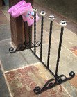 Black Welly Rack