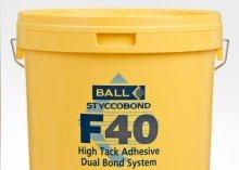 F à F40haute de Adhesive- Double Bond Système 5l