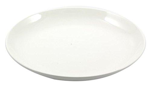 la Porcellana Convivio Creuse Plateau Rond cm 36 dans Une boîte Cadeau, Blanc