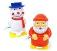 Clockwork Santa & Snowman, 1 of each supplied