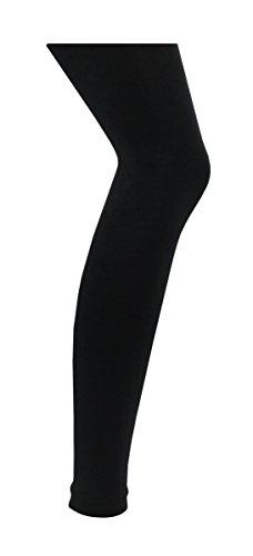 RedTag Filles Noir thermique Leggings 0,45TOG Noir - Noir - 7-8 ans