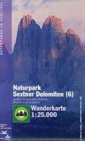 Tabacco Wandern 1 : 25 000 Naturpark Sextner Dolomiten (6): in den Gemeinden Toblach, Sexten und Innichen. Wanderkarte Tabacco