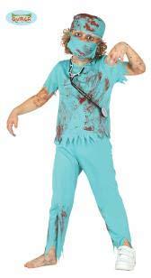 Zombie-Chirurg, grosse Kinder, 10-12 Jahre