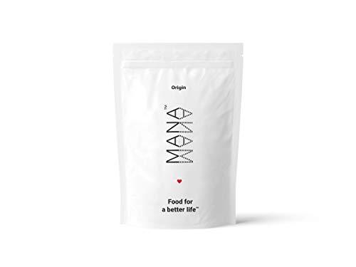 Mana Pulver | Origin Mahlzeitenersatz - 35 meals x 400 kcal - Kein GMO Vegan Trinkbereit Frühstück - Laktosefrei ausgewogene Mahlzeit in 60 Sekunden zubereiten (Origin)