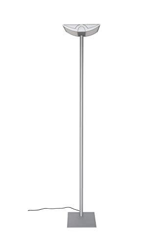 Maul Büro Standleuchte MAULavior, 4 x 14 Watt, Direktes Licht, Höhe 190 cm, Silber, 8256095
