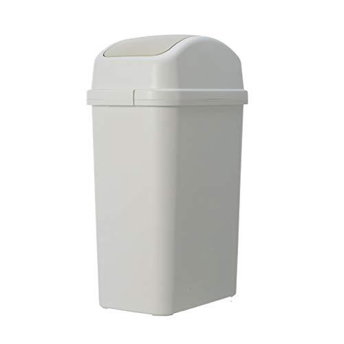 CQOZ Mülleimer schütteln, schmaler Hausmüll, verschraubter Papierkorb, Verschiedene Größen Mülleimer (größe : 18×30×56.1cm)