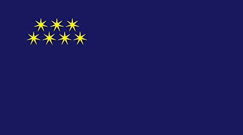 Ajara, 2000-2004 Bandiera 20x30cm per Diplomat-Flags Bandiere per Auto