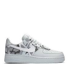 best loved 113ad 8fca2 NIKE Scarpe Unisex Air Force 1 07 LV8 in Pelle Bianca 823511-009