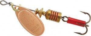 Mepps Aglia Plain Spinner - Treble Hook Size 1 Bronze