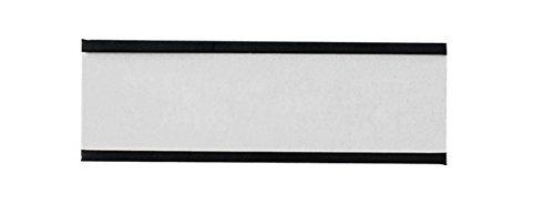 Legamaster 7-450400 Magnetische Etikettenträger für Whiteboards, 54 Stück, 20 x 60 mm, schwarz
