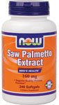 NOW Foods Saw Palmetto Extract 160mg 240 softgels 0733739047441