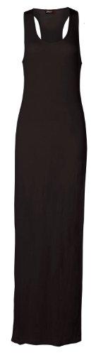 Fast Fashion Maxi robe sans manches dos nageur Noir - Noir