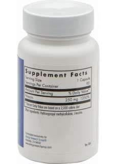 Allergy Research Group Niacin Vitamin B3 250 mg 90 Veg Caps