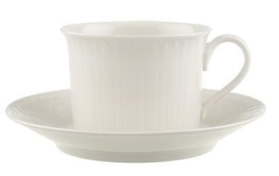 Villeroy & Boch Cellini Tasse Petit Déjeuner avec Assiette, 2 pièces, Premium Porcelaine, Multicolore
