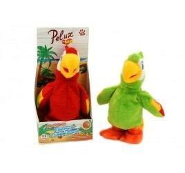 "Globo Toys 37926\""Pelux\"" Repeat/Walk peluche pappagallo19 cm"