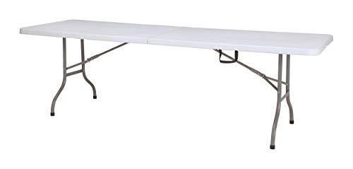 Chiner - Mesa Rectangular Plegable Centro 244 cm