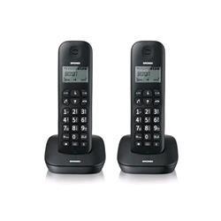 Brondi Gala Twin Telefono Cordless, Nero