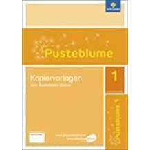 Pusteblume 1. Ausgabe 2016. Kopiervorlagen zum Buchstaben-Ordner, Grundschule