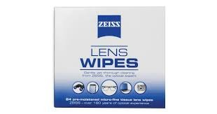 Zeiss Lens Wipes 3 Boxes containing 32 wipes each