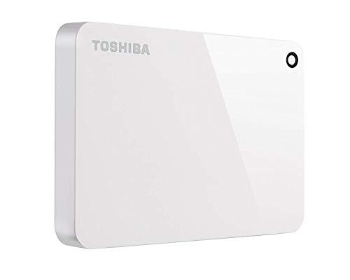 Toshiba Canvio Advance Externe Festplatte (4 TB, USB 3.0) Weiß weiß 2TB