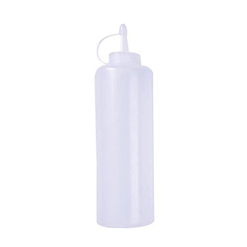 Plastik Squeeze Flaschen,Squeeze Condiment Flaschen Mit Caps Beste Spender Für Haus & Restaurant Ketchup, Senf, Dressings, Olivenöl, BBQ Sauce- BPA Frei