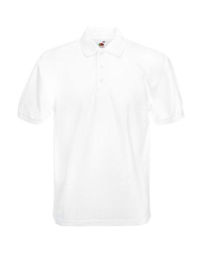 FOTL schweres Piqué-Poloshirt 65/35 (DE) Weiß - Weiß