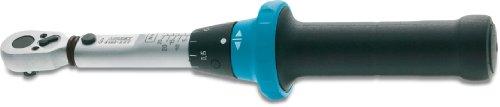 Hazet 5108-2CT Drehmomentschlüssel 2,5-25 Nm, Genauigkeit +/- 4% in Klarsichtbox