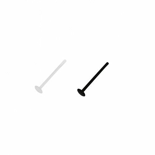 eeddoor-12-mm-wt-white-weiss-ptfe-labret-ohne-kugel-lange-18-mm-10er-pack-piercing-stab-fur-ua-lippe