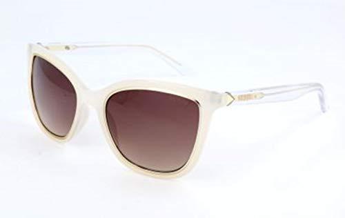 Guess Damen Gu7467 24G-54-20-140 Sonnenbrille, Weiß, 54
