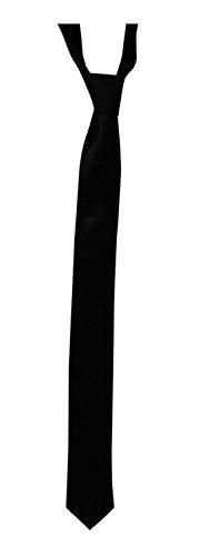 Kesaris-Black-Imported-Fabric-Tie-For-Men-slim-ties-for-men-ties-for-menPack-of-one-Tie