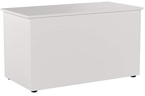 FMD Möbel Sitztruhe Hocki 2, weiß, 80x40x45cm - 3