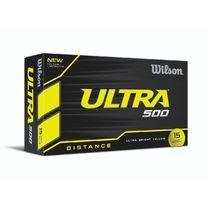 WILSON Ultra 500Golf Ball (15er Pack), gelb -