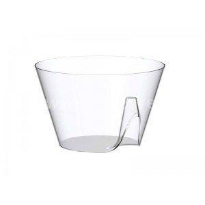 Bol cristal Lux By Starck plastique jetable par 25