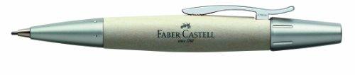 Faber-Castell E-Motion – Lápiz de madera y metal mate (madera de arce)