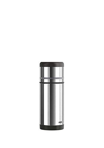 Emsa 509236 Isolierflasche, Mobil genießen, 350 ml, Safe Loc Pro Verschluss, Schwarz-Anthrazit, Mobility