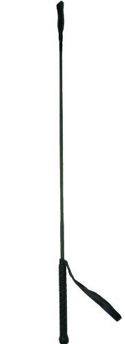 Reitgerte mit Klatsche 75 cm oliv ARBO-INOX